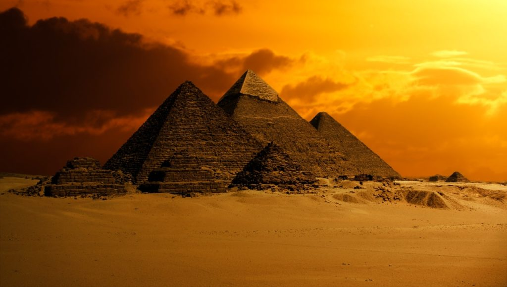 Pyramid: symbol of Egypt