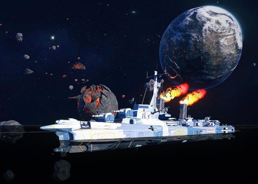 Space visit