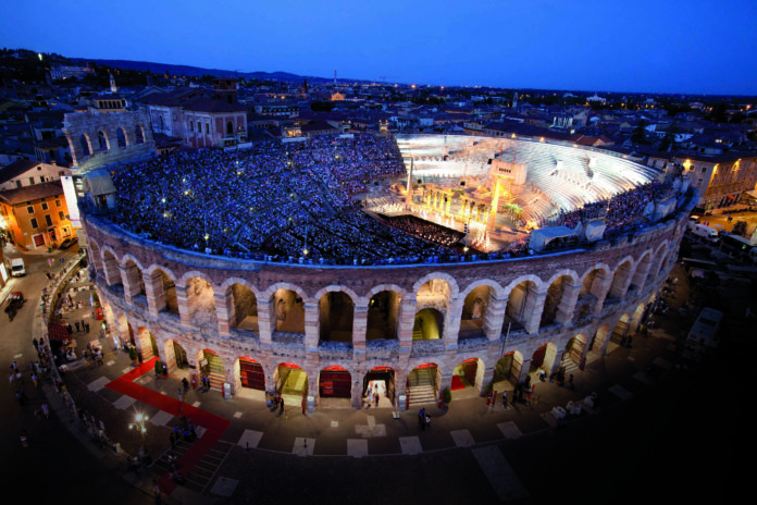 Opera at Arena di Verona