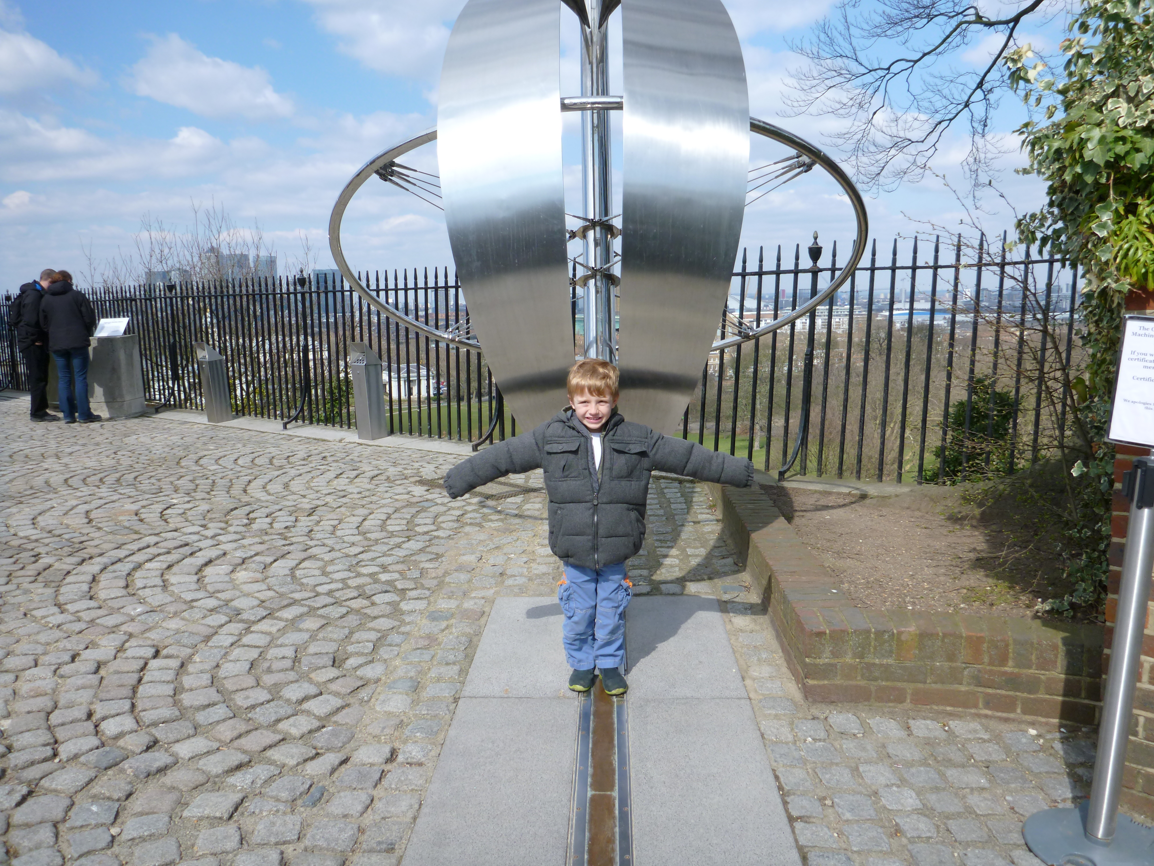 The International Date Line at Greenwich