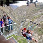 World highest Nevis swing