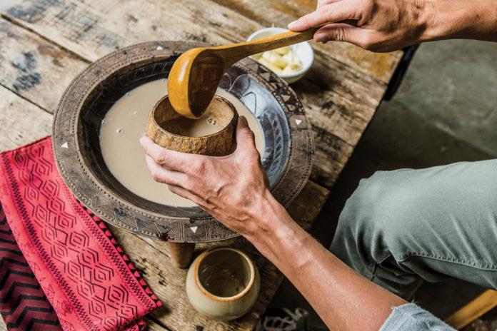 Fijians drink Kava