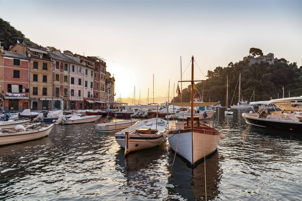Portofino fishing village