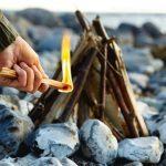 Start a fire with Sticks